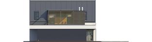 Projekt domu Neo II G1 ENERGO - elewacja prawa