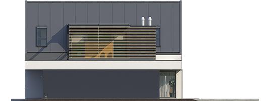 Neo II G1 A++ - Projekt domu Neo II G1 ENERGO - elewacja prawa