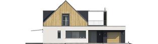 Projekt domu Neo II G1 ENERGO - elewacja frontowa
