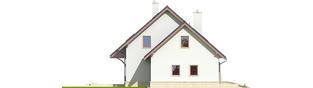 Projekt domu Jurek G1 Leca® DOM - elewacja lewa