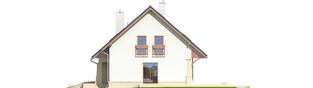 Projekt domu Jurek G1 Leca® DOM - elewacja prawa