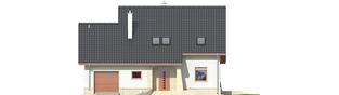 Projekt domu Jurek G1 Leca® DOM - elewacja frontowa