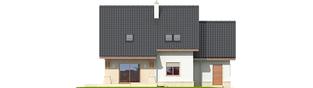 Projekt domu Jurek G1 Leca® DOM - elewacja tylna