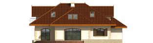 Projekt domu Marysia II G2 - elewacja tylna