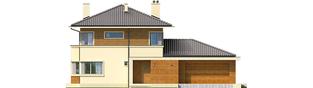 Projekt domu Rodrigo II G2 - elewacja frontowa