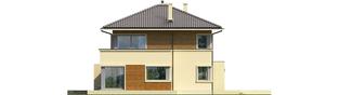 Projekt domu Rodrigo II G2 - elewacja lewa