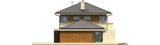 Projekt domu Rodrigo II G2 - elewacja prawa