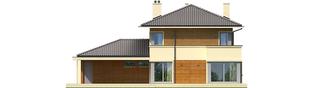 Projekt domu Rodrigo II G2 - elewacja tylna