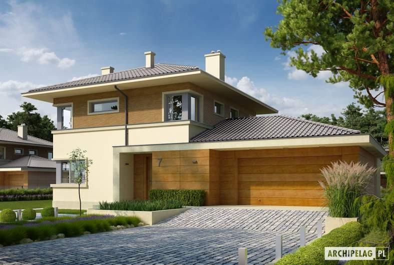 Projekt domu Rodrigo II G2 - wizualizacja frontowa