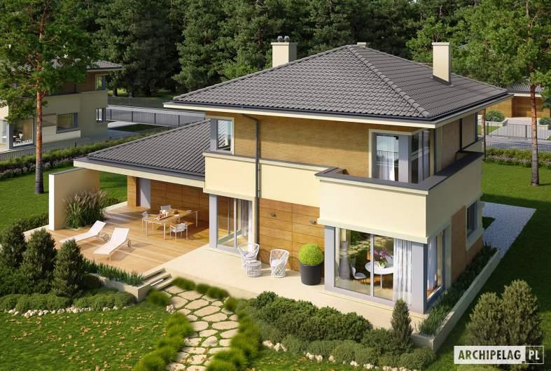 Projekt domu Rodrigo II G2 - widok z góry