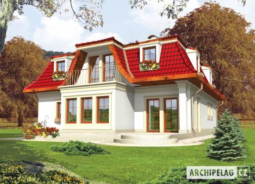Projekt rodinného domu - Gája (nová)