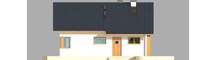Projekt domu Tori III ECONOMIC (wersja A) - elewacja frontowa