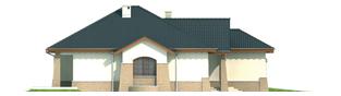 Projekt domu Mikołaj G1 - elewacja lewa