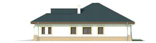 Projekt domu Mikołaj G1 - elewacja prawa