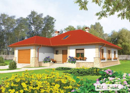 House plan - Afra
