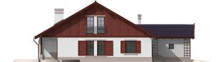 Projekt domu Klementynka G1 - elewacja lewa