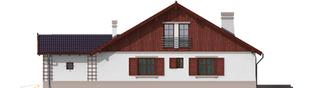 Projekt domu Klementynka G1 - elewacja prawa