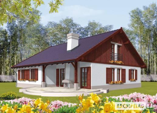 Проект будинку - Клементинка (Г1)