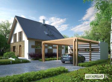 Projekt: Budynek gospodarczy G41 (z wiatą)