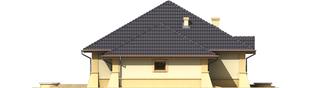 Projekt domu Huberta II G1 - elewacja lewa