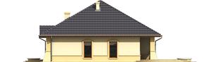Projekt domu Huberta II G1 - elewacja prawa