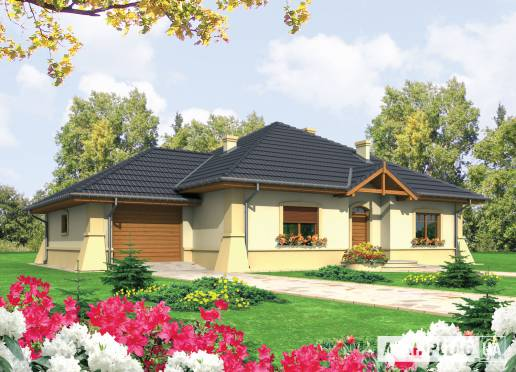 Проект будинку - Хуберта (Г1)