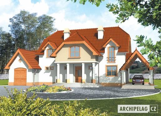 Projekt rodinného domu - Jorga