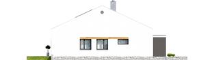 Projekt domu Ralf II G1 ENERGO PLUS - elewacja lewa