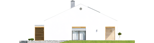 Projekt domu Ralf II G1 ENERGO PLUS - elewacja prawa