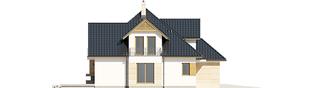 Projekt domu Samuel G1 - elewacja lewa