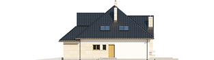 Projekt domu Samuel G1 - elewacja prawa