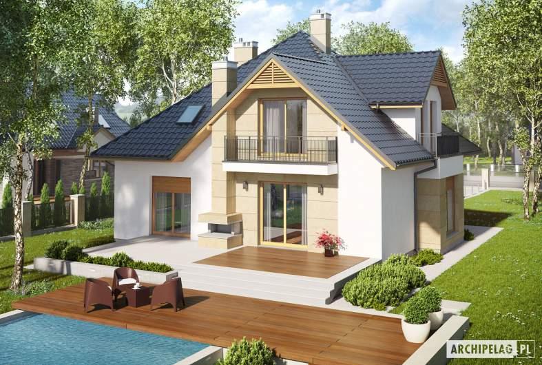 Projekt domu Samuel G1 - widok z góry