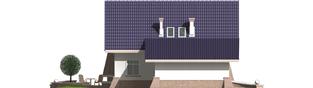 Projekt domu Frania G1 - elewacja lewa