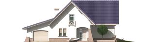Projekt domu Frania G1 - elewacja frontowa