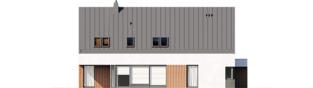 Projekt domu Daniel VI G2 - elewacja lewa