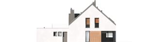 Projekt domu Daniel VI G2 - elewacja tylna