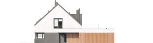 Projekt domu Daniel VI G2 - elewacja frontowa