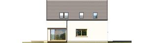 Projekt domu Markus G1 ENERGO PLUS - elewacja lewa