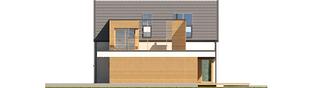 Projekt domu Markus G1 ENERGO PLUS - elewacja prawa