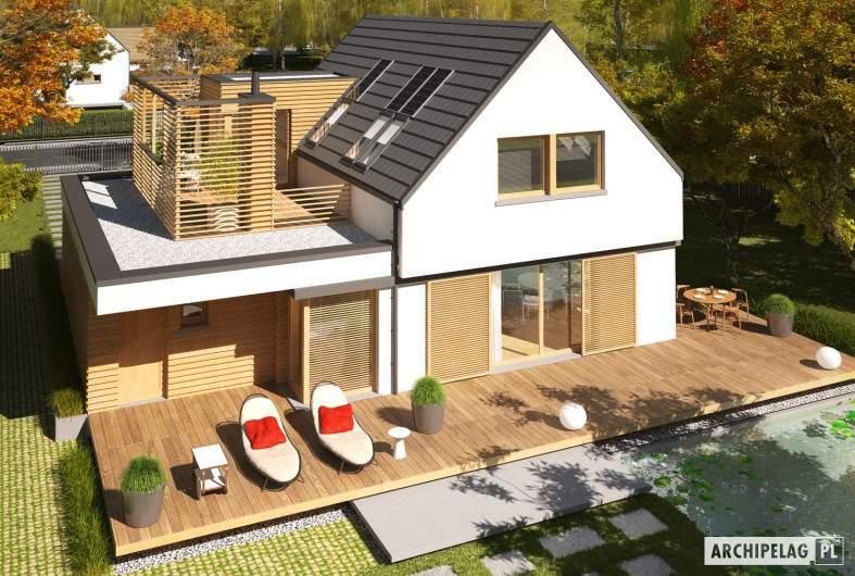Projekt domu Markus G1 ENERGO PLUS - widok z góry