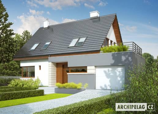 Projekt rodinného domu - Tim G1 (wersja A)