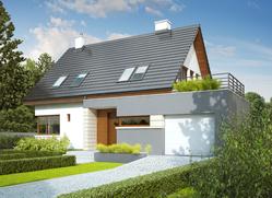 Projekt rodinného domu: Tim G1 (wersja A)