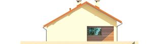 Projekt domu Tori III G1 ECONOMIC (wersja B) - elewacja prawa