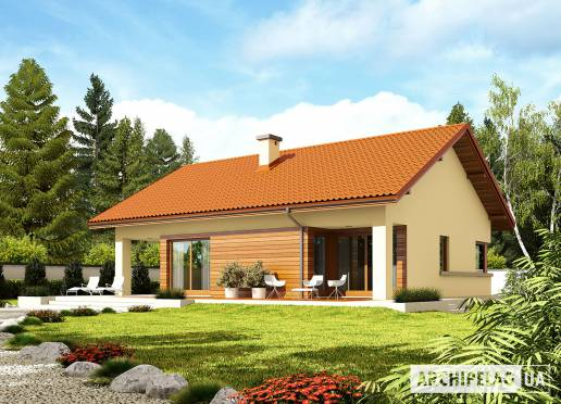 Проект будинку - Торі ІІІ (Г1, Економ, версія Б)