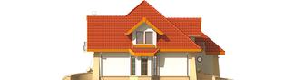 Projekt domu Atena G1 - elewacja lewa