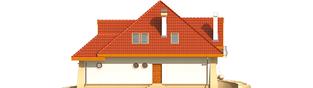 Projekt domu Atena G1 - elewacja prawa