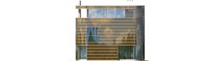 Projekt domu Mirror G2 - elewacja lewa