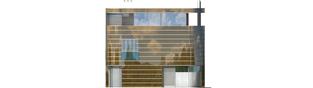 Projekt domu Mirror G2 - elewacja prawa