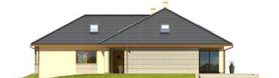 Projekt domu Alan II G2 - elewacja prawa