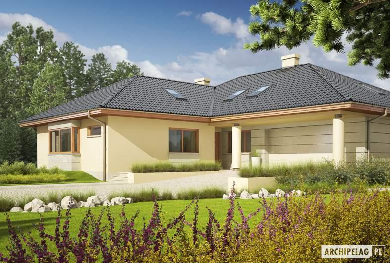 Projekt domu Alan II G2 - wizualizacja frontowa